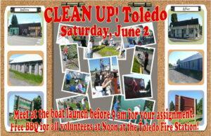 Clean Up Toledo Poster