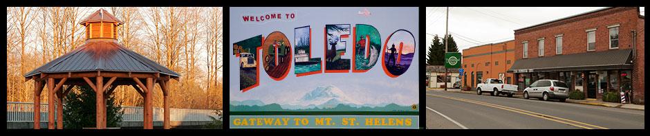 Welcome to Toledo, Washington