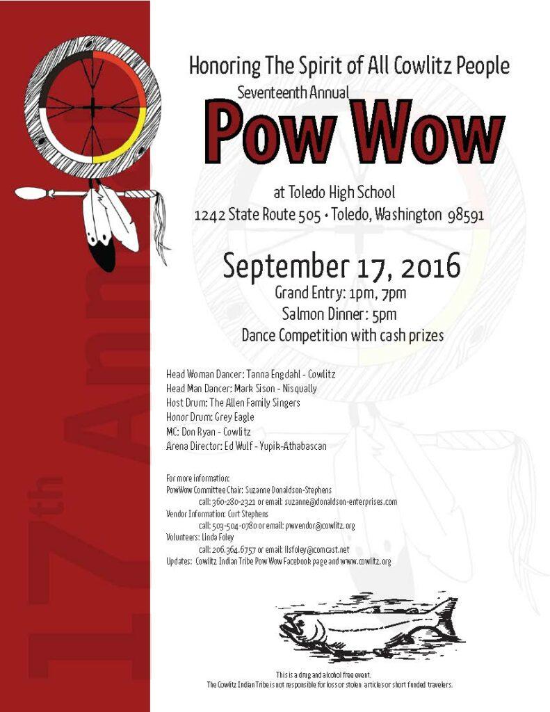 2016 Cowlitz Pow Wow